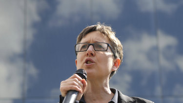"""ACTU Secretary Sally McManus said the Fair Work Commission decision was """"a step in the right direction""""."""