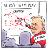 Anthony Albanese has begun to appoint staffers to key roles in his office. Illustration: Matt Golding