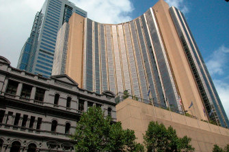 Room occupancy in Melbourne's CBD was around 30 per cent last November, a figure boosted by health workers and the hotel quarantine program.