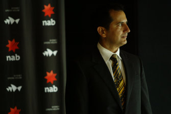 George Frazis in 2006, during his time with National Australia Bank.