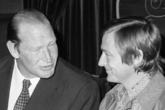 Cornell was media magnate Kerry Packer's confidante during World Series Cricket in the late 1970s.