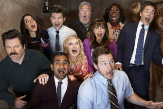 Parks & Recreation's complete series is on Amazon Prime Video.