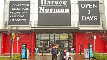 Harvey Norman cancels dividend despite virus sales spike