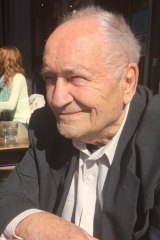 Joe Bertony, the engineer who invented the Sydney Opera House erection arch.