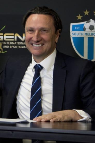 South Melbourne bid chairman Bill Papastergiadis.