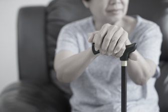 Once you hit 65, you might be in the zone for that common problem of old age, falling over.