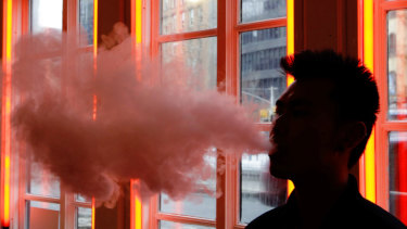 Cigarette companies have looked to vapes in the wake of declining smoking rates.