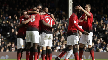 United's impressive run continued as they cracked the top four.