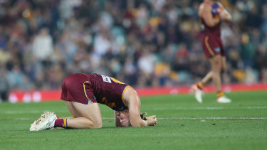 The Lions were knocked out of the finals series by GWS at the Gabba on Saturday. The Broncos suffered the same fate the following day.