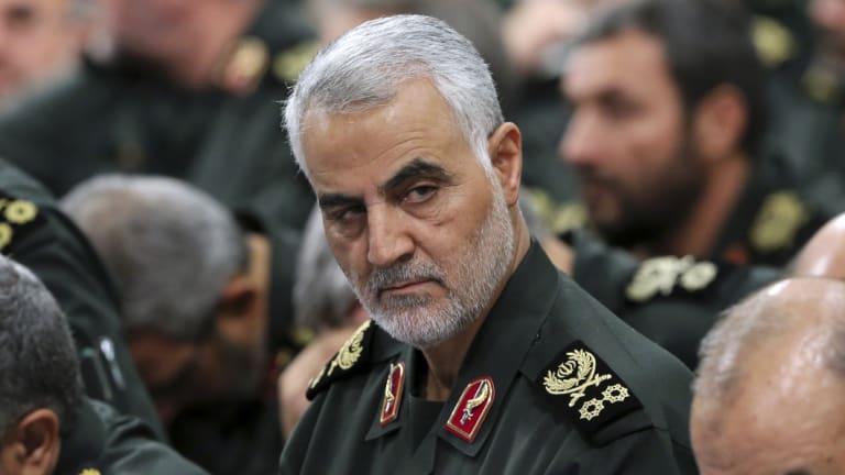 Iranian Revolutionary Guard General Qassem Soleimani.