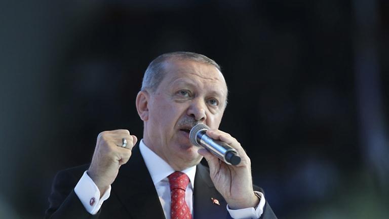 Turkey's President Recep Tayyip Erdogan.