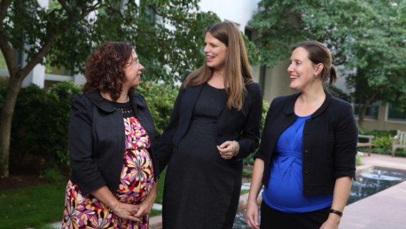 Last mum standing: Labor MP's Parliament-life balance