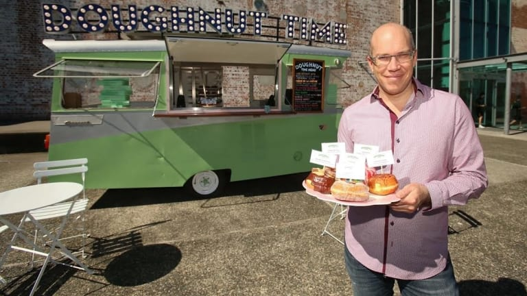 Former Doughnut Time owner Damian Griffiths.