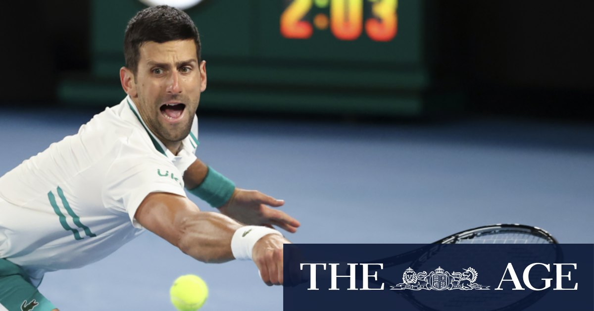 'If it wasn't a grand slam I would retire': Djokovic reveals injury toll after booking quarters ticket – The Age