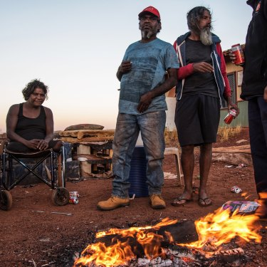 Parnpajinya sprouted as a makeshift shanty town in the late 20th century, when Aboriginal families were removed from their traditional land.