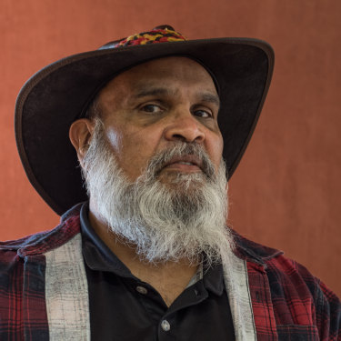 Whadjuk Yued Noongar man Devon Cuimara has been living in Newman 17 years.