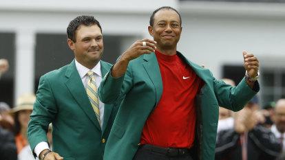 Little Masters: Housebound Woods battles son for green jacket