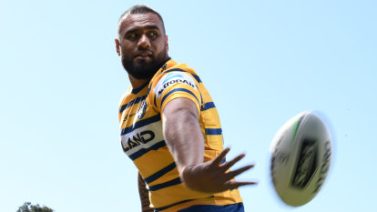 Why Eels prop Junior Paulo is as skilful as any halfback - at 123kg