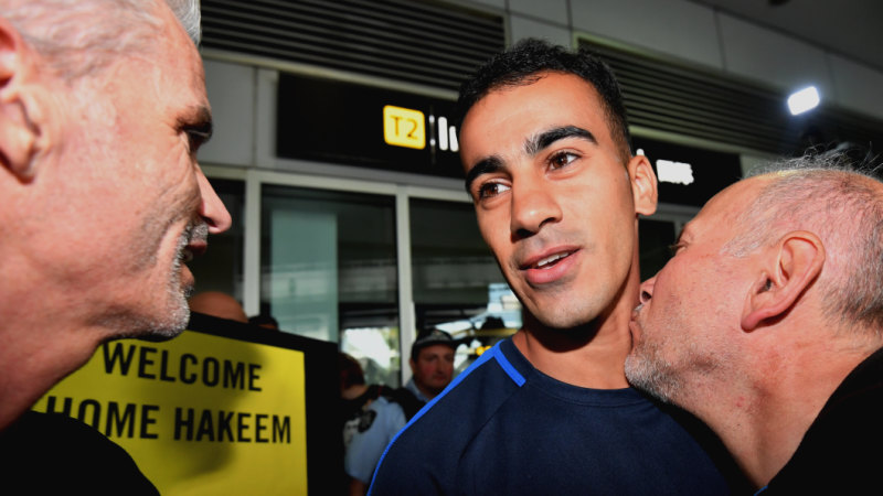 AFP points at Home Affairs over 'gap' in Hakeem al-Araibi case