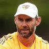 Chris Newman is defensive coach at Hawthorn.