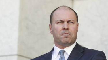 Treasurer Josh Frydenberg. It will now be at least 18 months before the government delivers a full budget.