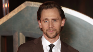 """Tom Hiddleston says Loki, who is gender fluid, has """"always been a character you could never put in a box""""."""
