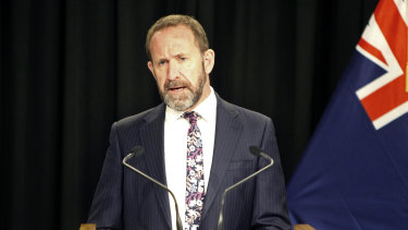 New Zealand's Justice Minister Andrew Little introduced the abortion bill.