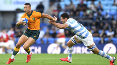 Quade Cooper turned around the Wallabies' fortunes this year.
