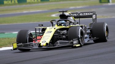 Ricciardo is optimistic ahead of Sunday's race.