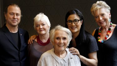Cooking legends Neil Perry, Stephanie Alexander, Margaret Fulton, Kylie Kwong and Maggie Beer in 2013.