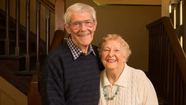 Alf and Elsie, who grew up in neighbouring orphanages and met working on the trams.