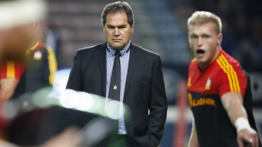 Glasgow coach Dave Rennie spent six seasons in charge of the Chiefs in Super Rugby.