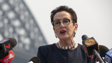 Sydney lord mayor Clover Moore has outraged many residents over her bike path comments.