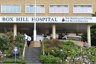 A coronavirus outbreak in Melbourne's northern suburbs that has stalled Victoria's reopening was triggered by a hospital worker who contracted the virus from a patient in Box Hill Hospital's COVID-19 ward.