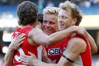 Isaac Heeney and the new-look Swans broke down Richmond's proven defence in stunning style.