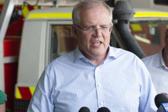 Prime Minister Scott Morrison, December 23.