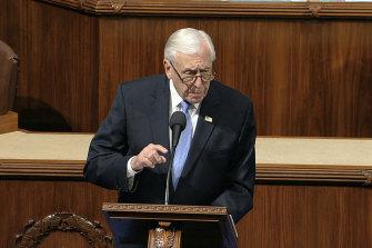 House Majority Leader Steny Hoyer.