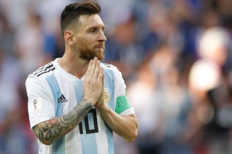 Like a prayer: Those looking for a sole saviour in Messi were disappointed.