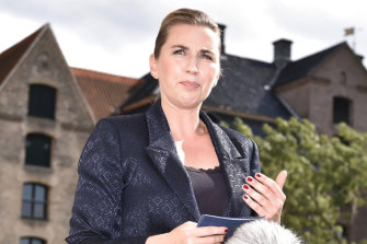 Denmark's Prime Minister Mette Frederiksen discusses the cancellation of Donald Trump's trip.