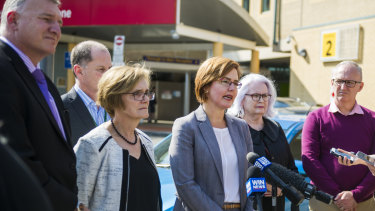 Health Minister Meegan Fitzharris announced an independent review on Monday.