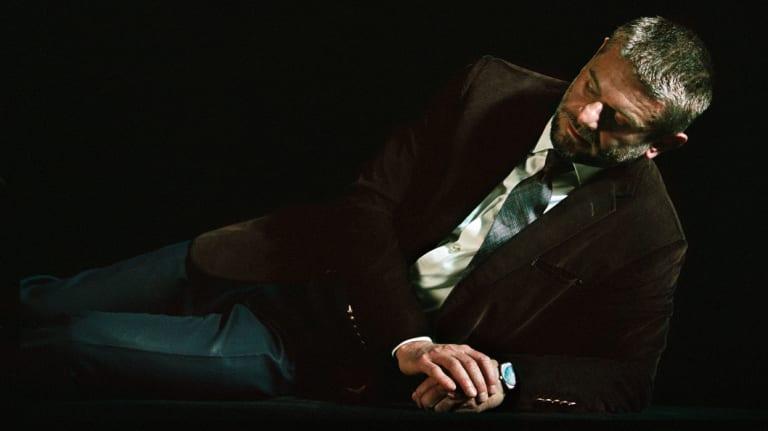 Bill Henson's cover shot of Nick Mitzevich.