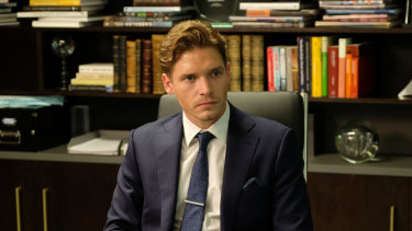 Billy Howle in MotherFatherSon