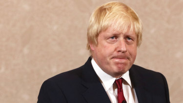 Boris Johnson, former mayor of London.