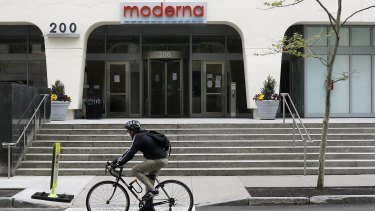 Moderna announced its successful vaccine trial results earlier this week.