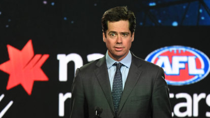 AFL 'comfortable' with Swans, Giants academies: McLachlan