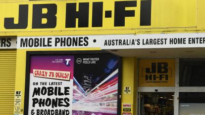 Lack of lockdown shopping spurs sluggish sales start for JB Hi-Fi