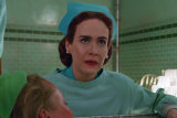 Sarah Paulson as nurse Mildred Ratched in Netflix's new show Ratched.