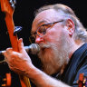 Loud and proud: Ed Kuepper at the Blue Mountains Theatre.