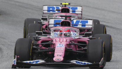 Racing Point parts impounded after Renault protest