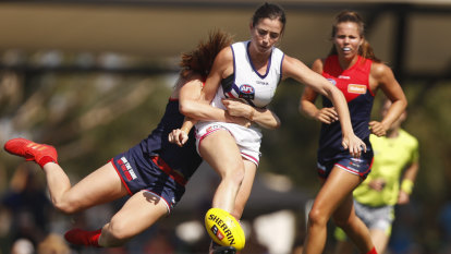 Dockers prevail against Demons in second highest scoring AFLW clash ever